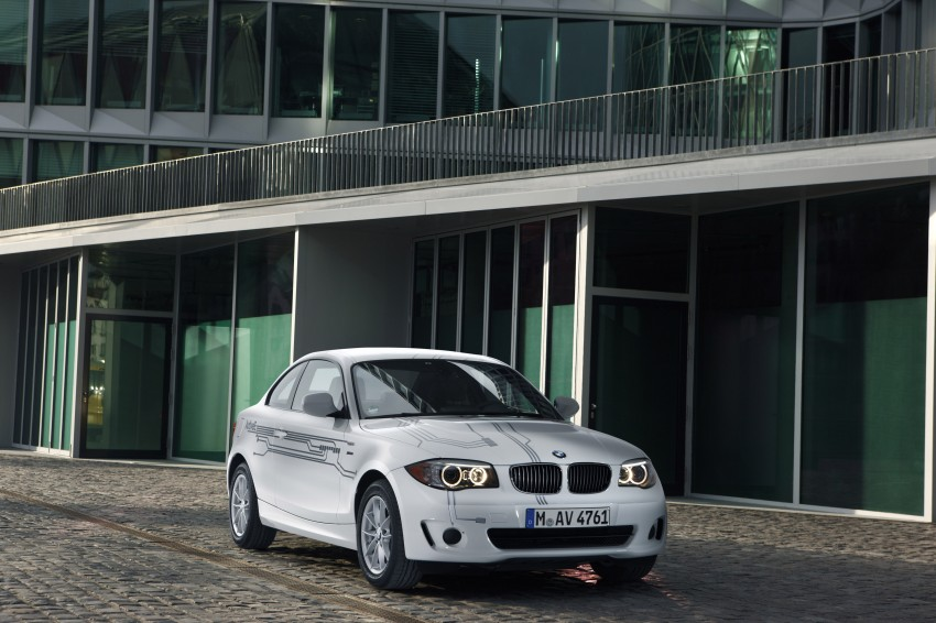 DRIVEN: BMW ActiveE, an electric 1-Series coupe Image #73208