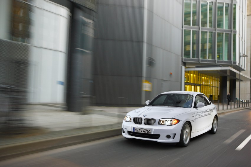 DRIVEN: BMW ActiveE, an electric 1-Series coupe Image #73211