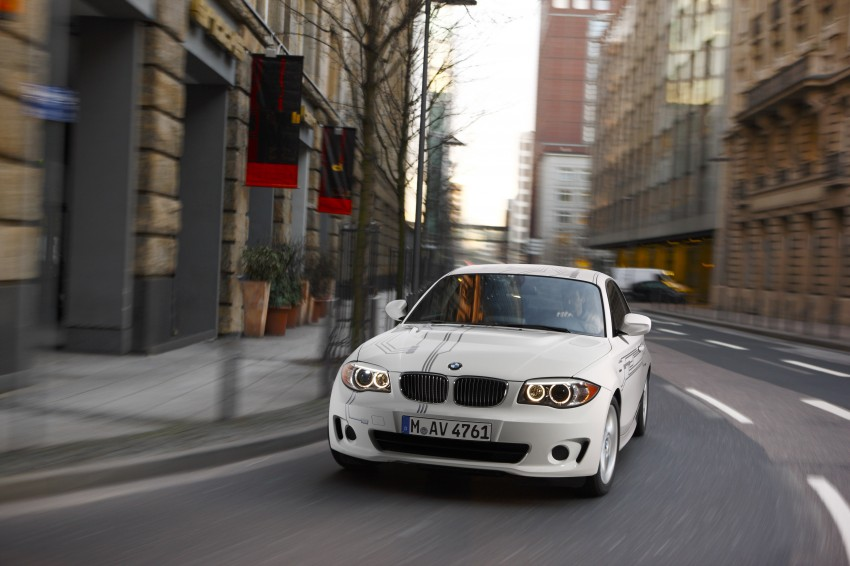 DRIVEN: BMW ActiveE, an electric 1-Series coupe Image #73212