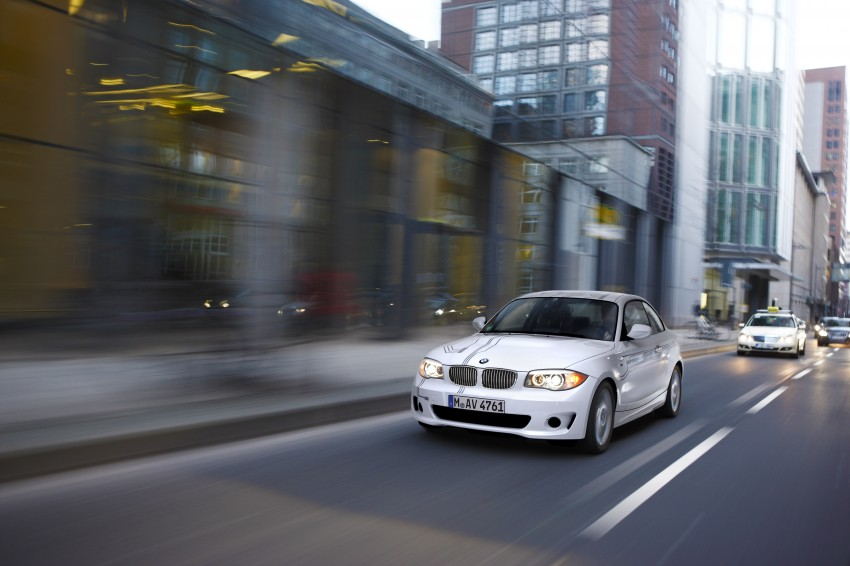 DRIVEN: BMW ActiveE, an electric 1-Series coupe Image #73213