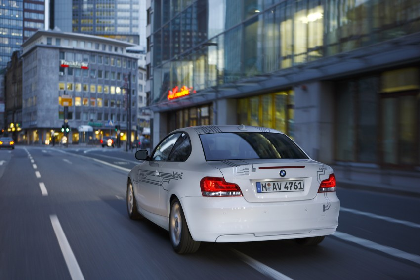 DRIVEN: BMW ActiveE, an electric 1-Series coupe Image #73214