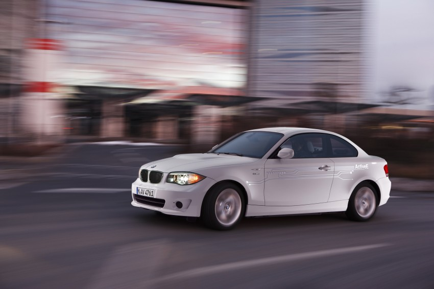 DRIVEN: BMW ActiveE, an electric 1-Series coupe Image #73229