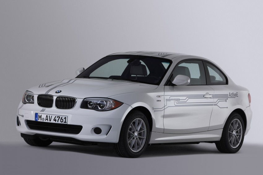 DRIVEN: BMW ActiveE, an electric 1-Series coupe Image #73231