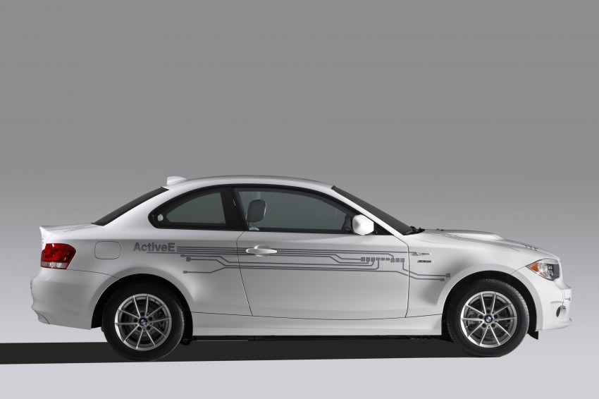 DRIVEN: BMW ActiveE, an electric 1-Series coupe Image #73234