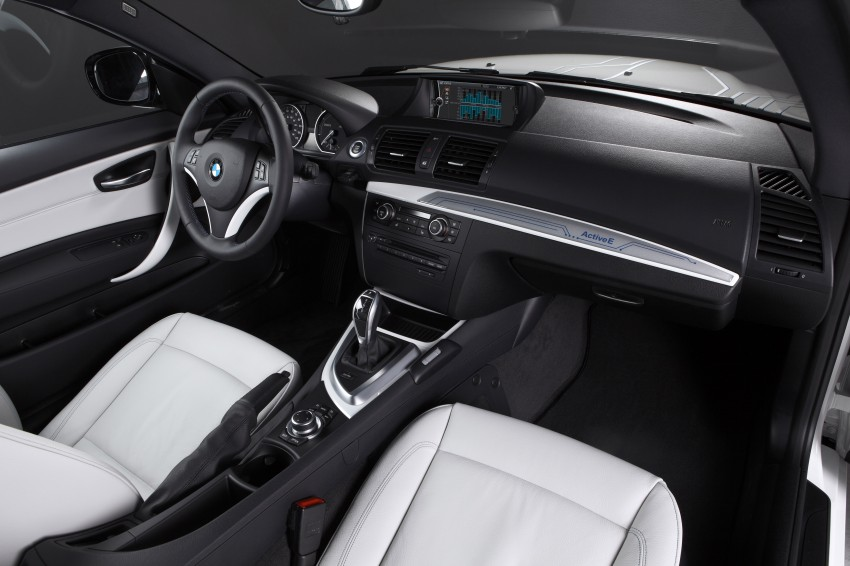 DRIVEN: BMW ActiveE, an electric 1-Series coupe Image #73238