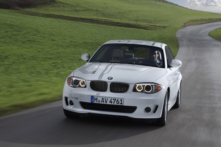 DRIVEN: BMW ActiveE, an electric 1-Series coupe Image #73240
