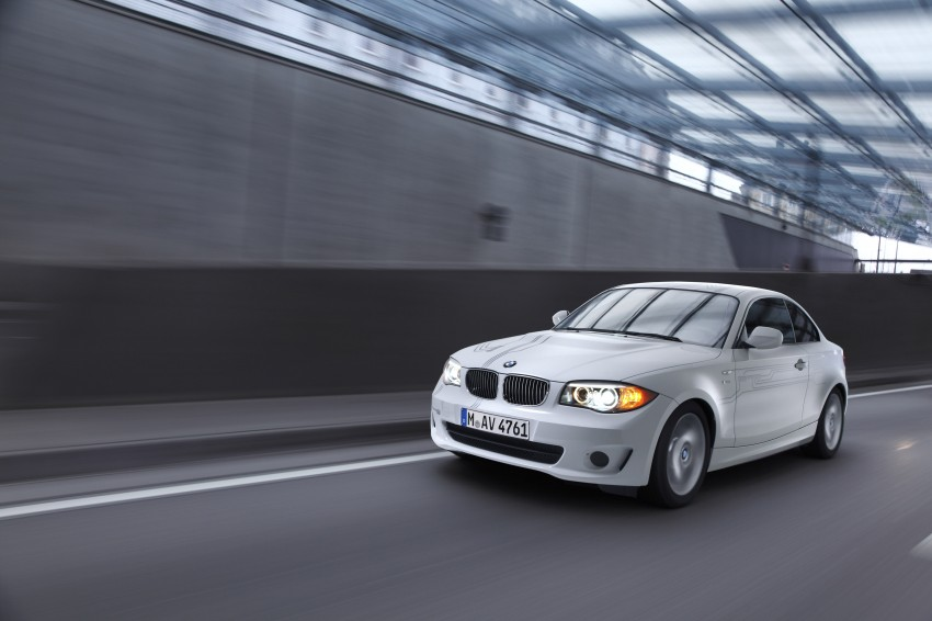 DRIVEN: BMW ActiveE, an electric 1-Series coupe Image #73242
