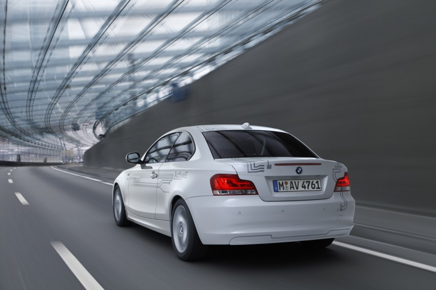 DRIVEN: BMW ActiveE, an electric 1-Series coupe Image #73243