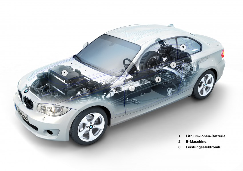 DRIVEN: BMW ActiveE, an electric 1-Series coupe Image #73255