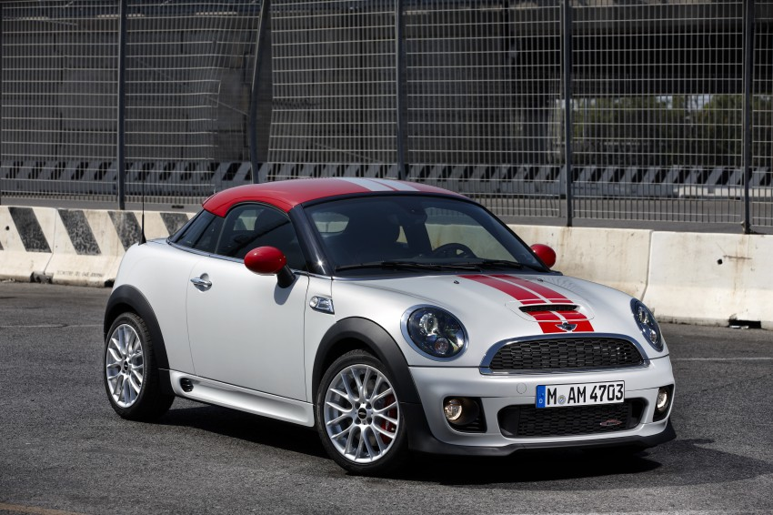 New MINI Coupe – production car details revealed! Image #65954