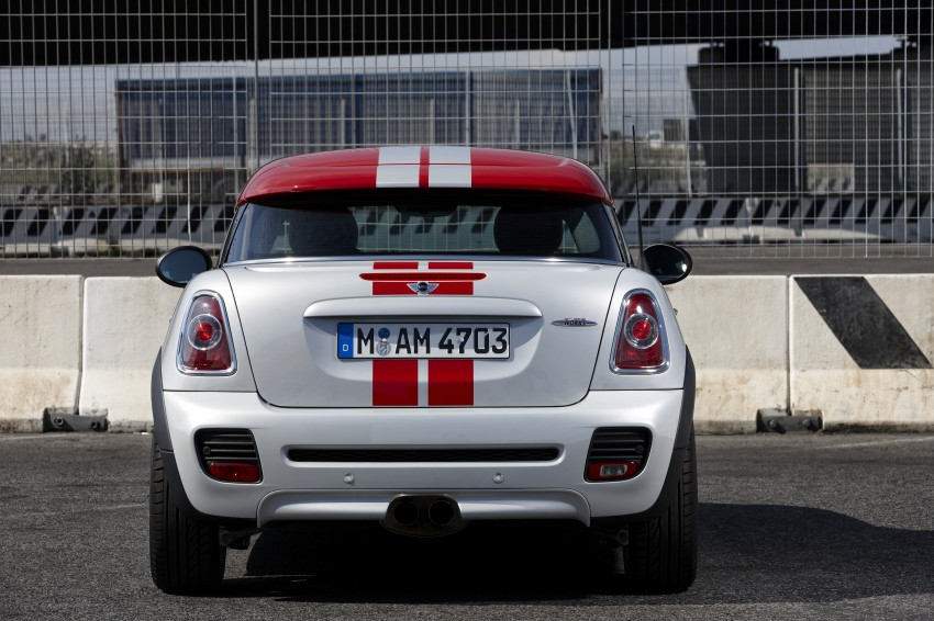 New MINI Coupe – production car details revealed! Image #65958