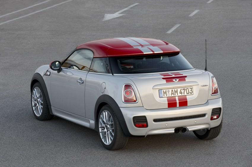 New MINI Coupe – production car details revealed! Image #65959