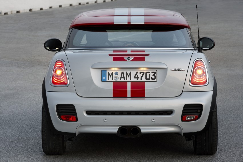 New MINI Coupe – production car details revealed! Image #65960