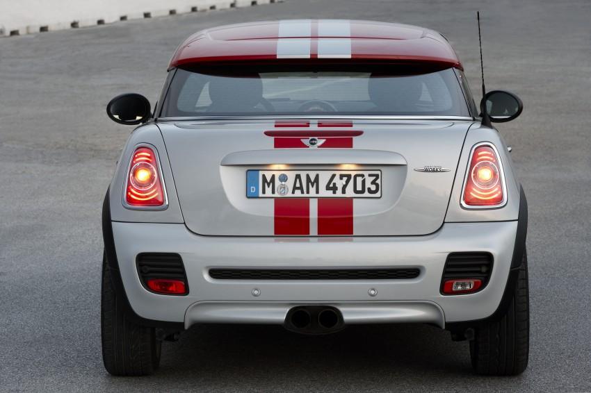New MINI Coupe – production car details revealed! Image #65960