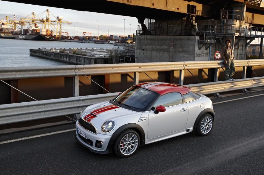 New MINI Coupe – production car details revealed! Image #65962