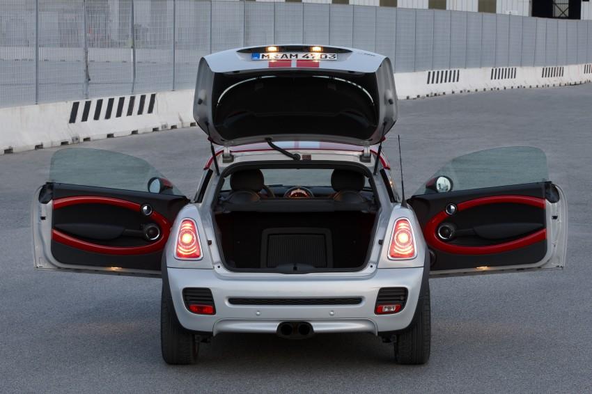 New MINI Coupe – production car details revealed! Image #65965