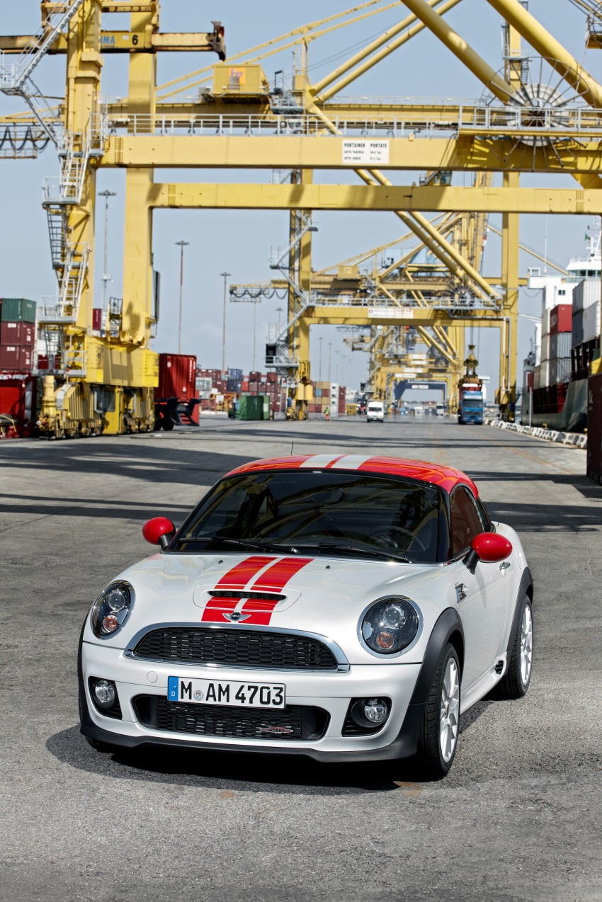 New MINI Coupe – production car details revealed! Image #65967