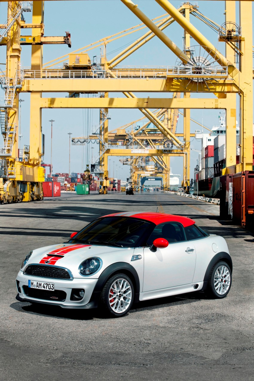 New MINI Coupe – production car details revealed! Image #65968