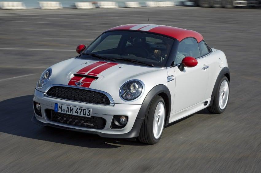 New MINI Coupe – production car details revealed! Image #65970