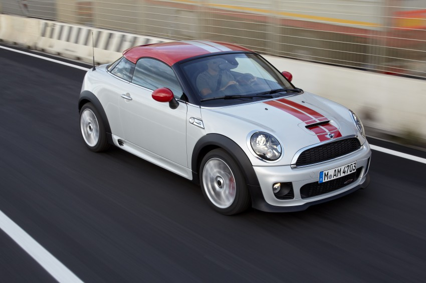 New MINI Coupe – production car details revealed! Image #65973