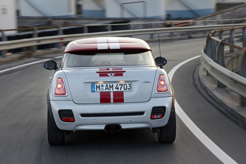 New MINI Coupe – production car details revealed! Image #65974