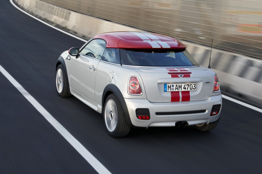 New MINI Coupe – production car details revealed! Image #65975