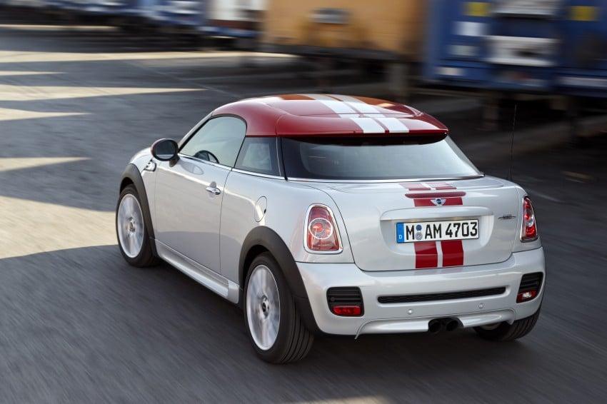 New MINI Coupe – production car details revealed! Image #65976