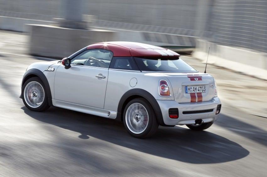 New MINI Coupe – production car details revealed! Image #65977