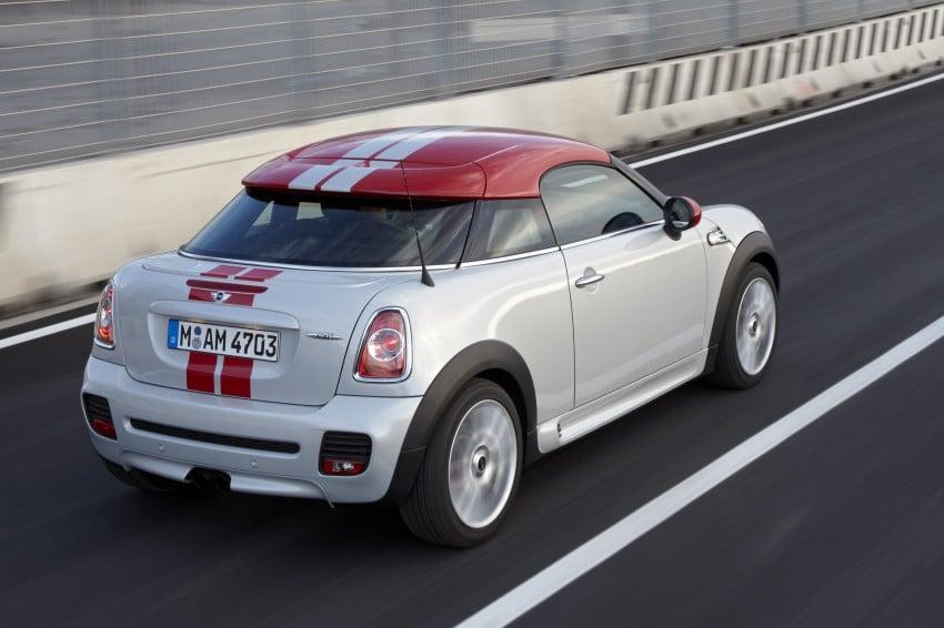 New MINI Coupe – production car details revealed! Image #65978