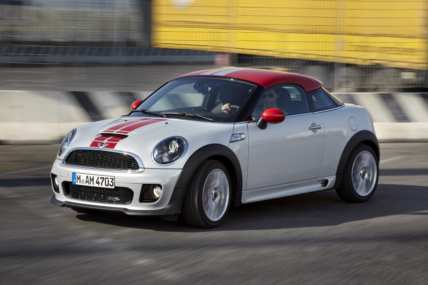 New MINI Coupe – production car details revealed! Image #65981
