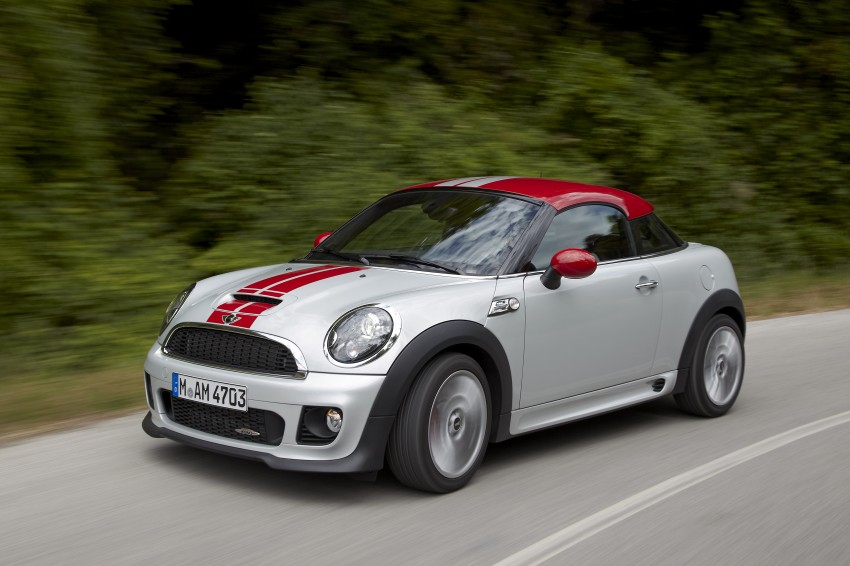 New MINI Coupe – production car details revealed! Image #65982