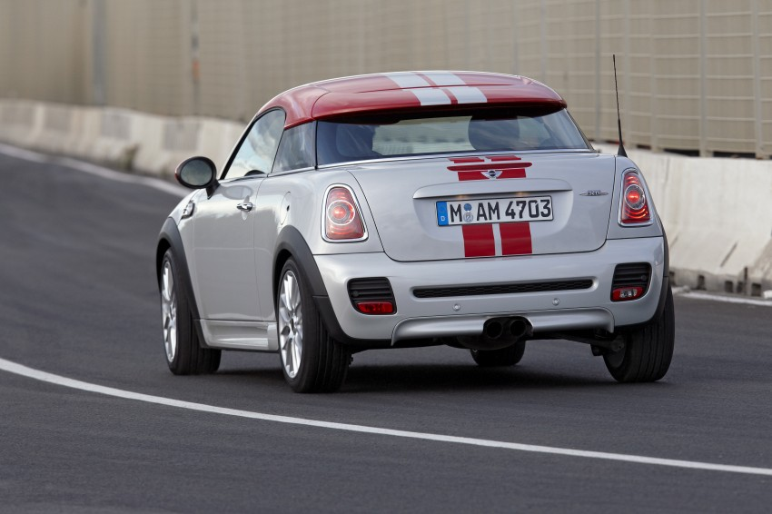 New MINI Coupe – production car details revealed! Image #65989