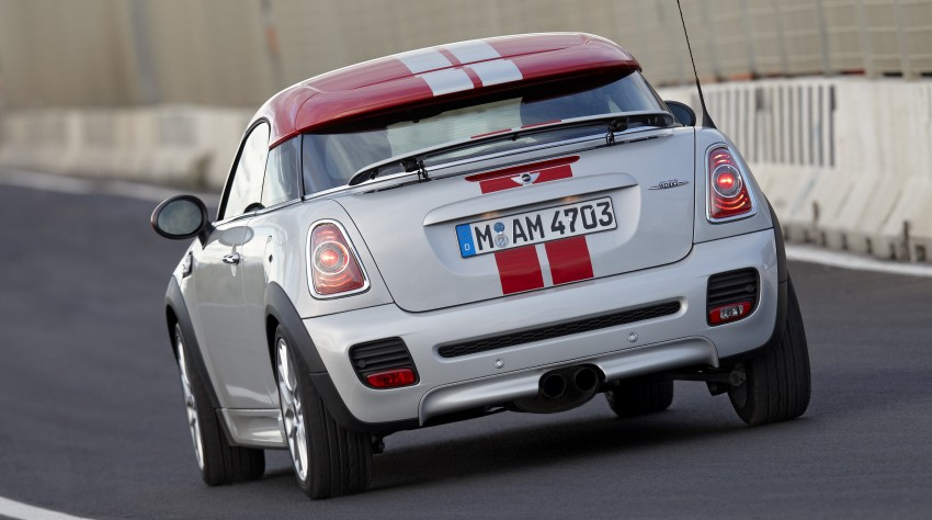 New MINI Coupe – production car details revealed! Image #65990