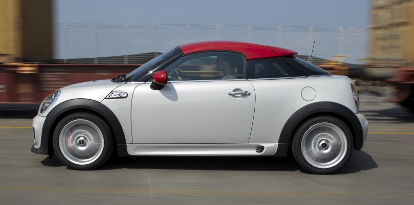 New MINI Coupe – production car details revealed! Image #65992