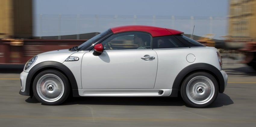 New MINI Coupe – production car details revealed! Image #65992