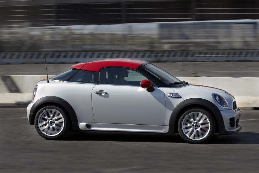 New MINI Coupe – production car details revealed! Image #65993