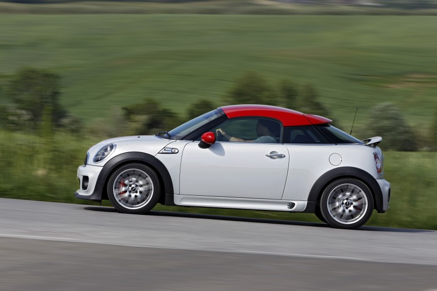 New MINI Coupe – production car details revealed! Image #65995