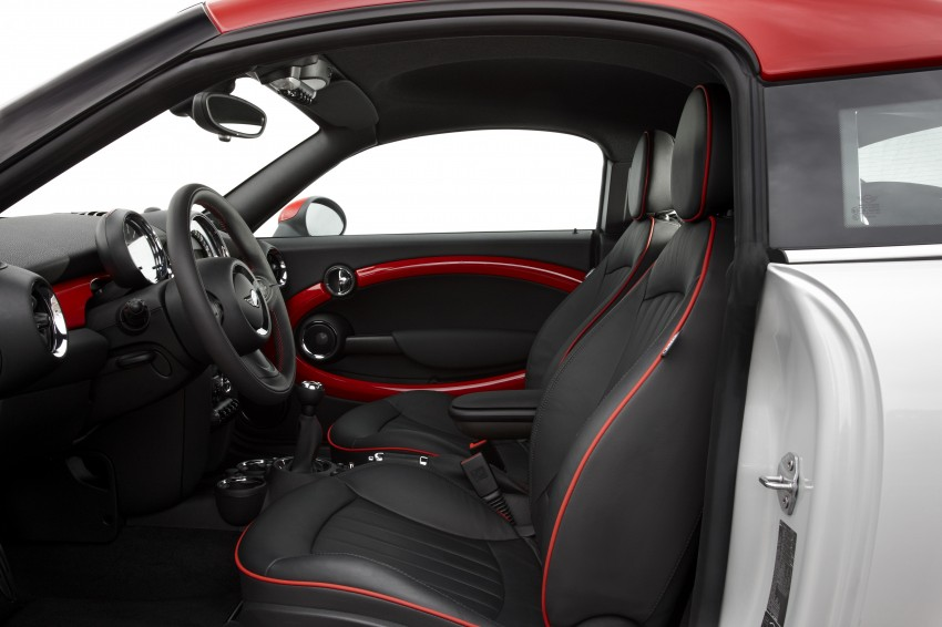New MINI Coupe – production car details revealed! Image #65998