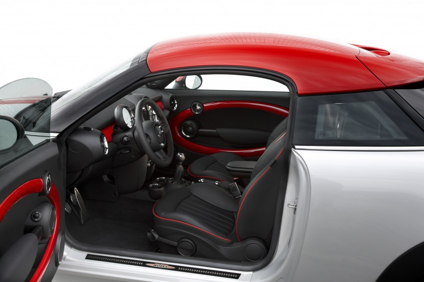 New MINI Coupe – production car details revealed! Image #65999