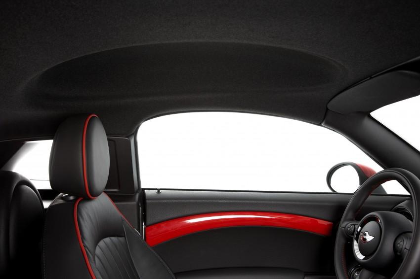 New MINI Coupe – production car details revealed! Image #66000