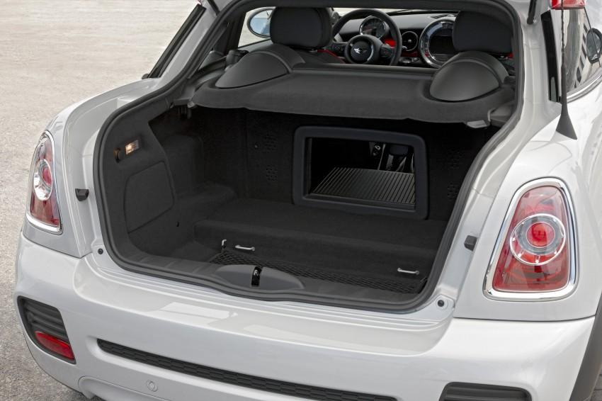 New MINI Coupe – production car details revealed! Image #66006