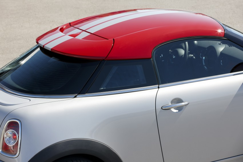 New MINI Coupe – production car details revealed! Image #66014