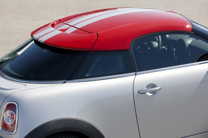 New MINI Coupe – production car details revealed! Image #66014