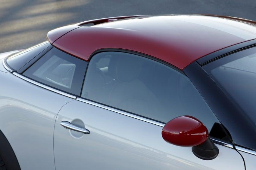 New MINI Coupe – production car details revealed! Image #66016