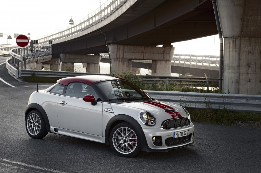 New MINI Coupe – production car details revealed! Image #66018