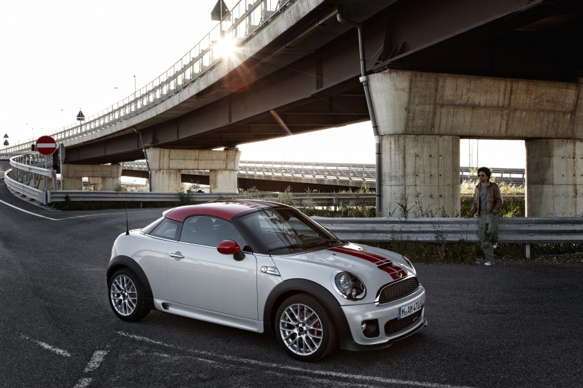 New MINI Coupe – production car details revealed! Image #66022