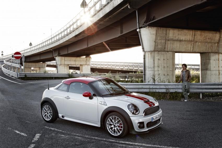 New MINI Coupe – production car details revealed! Image #66023