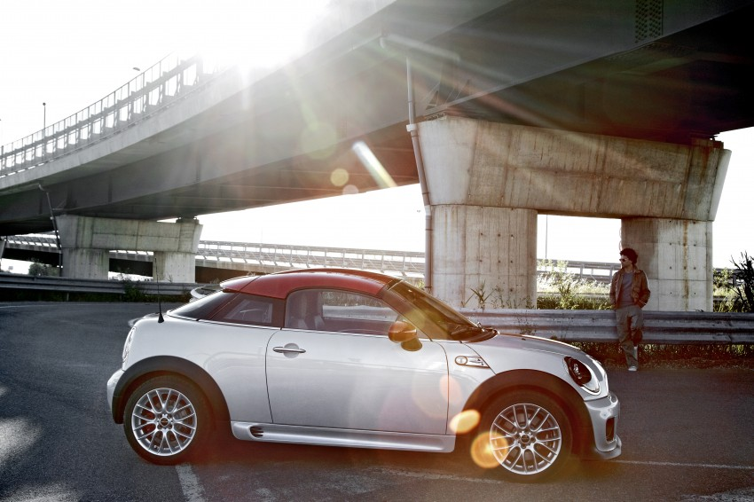 New MINI Coupe – production car details revealed! Image #66027