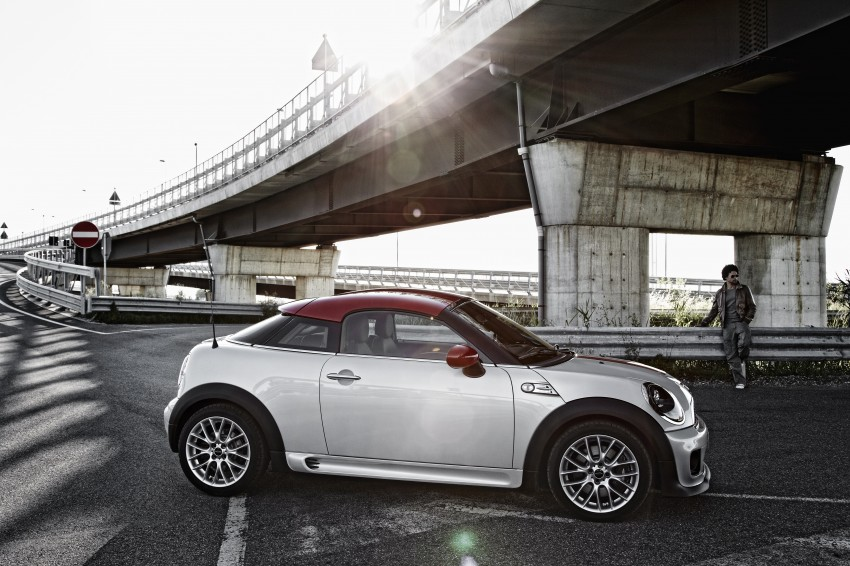 New MINI Coupe – production car details revealed! Image #66028
