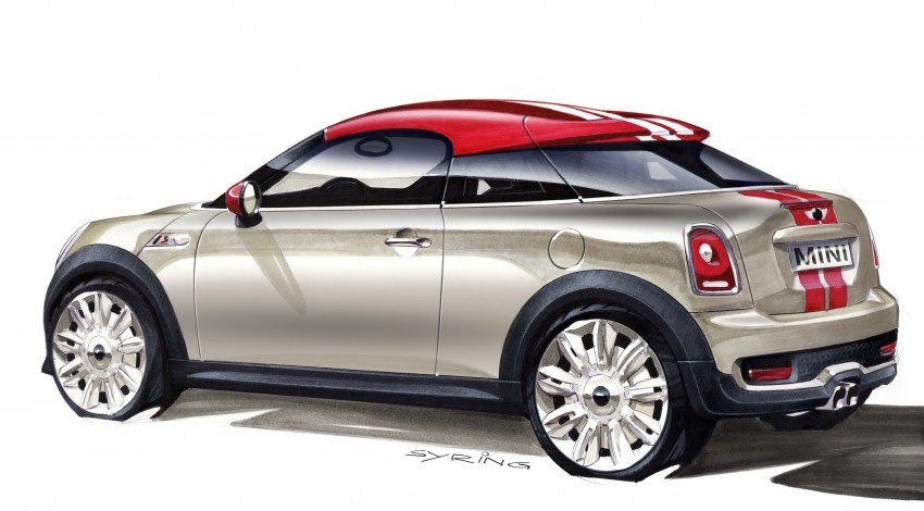 New MINI Coupe – production car details revealed! Image #66029